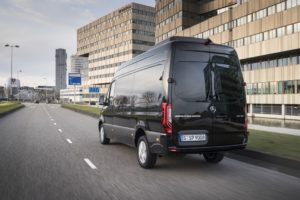Pressefahrvorstellung Mercedes-Benz Sprinter, Amsterdam 2018