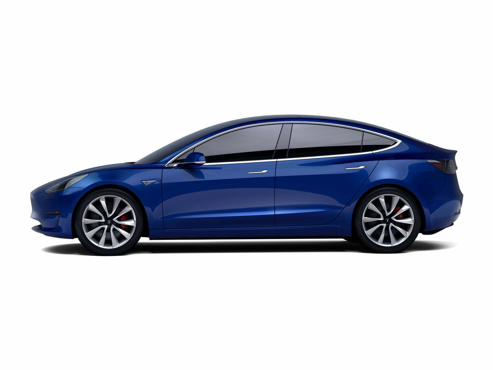 Tesla Model 3 Long Range Dual Motor AWD 4d.
