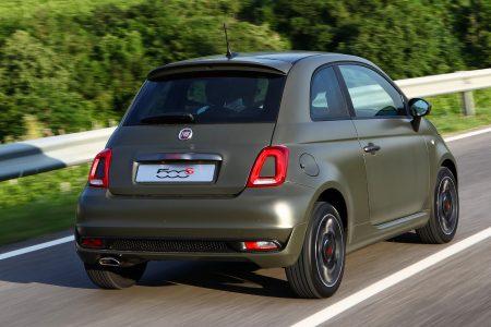 Fiat 500 1.0 51kW/70pk Lounge Hybrid 3d.