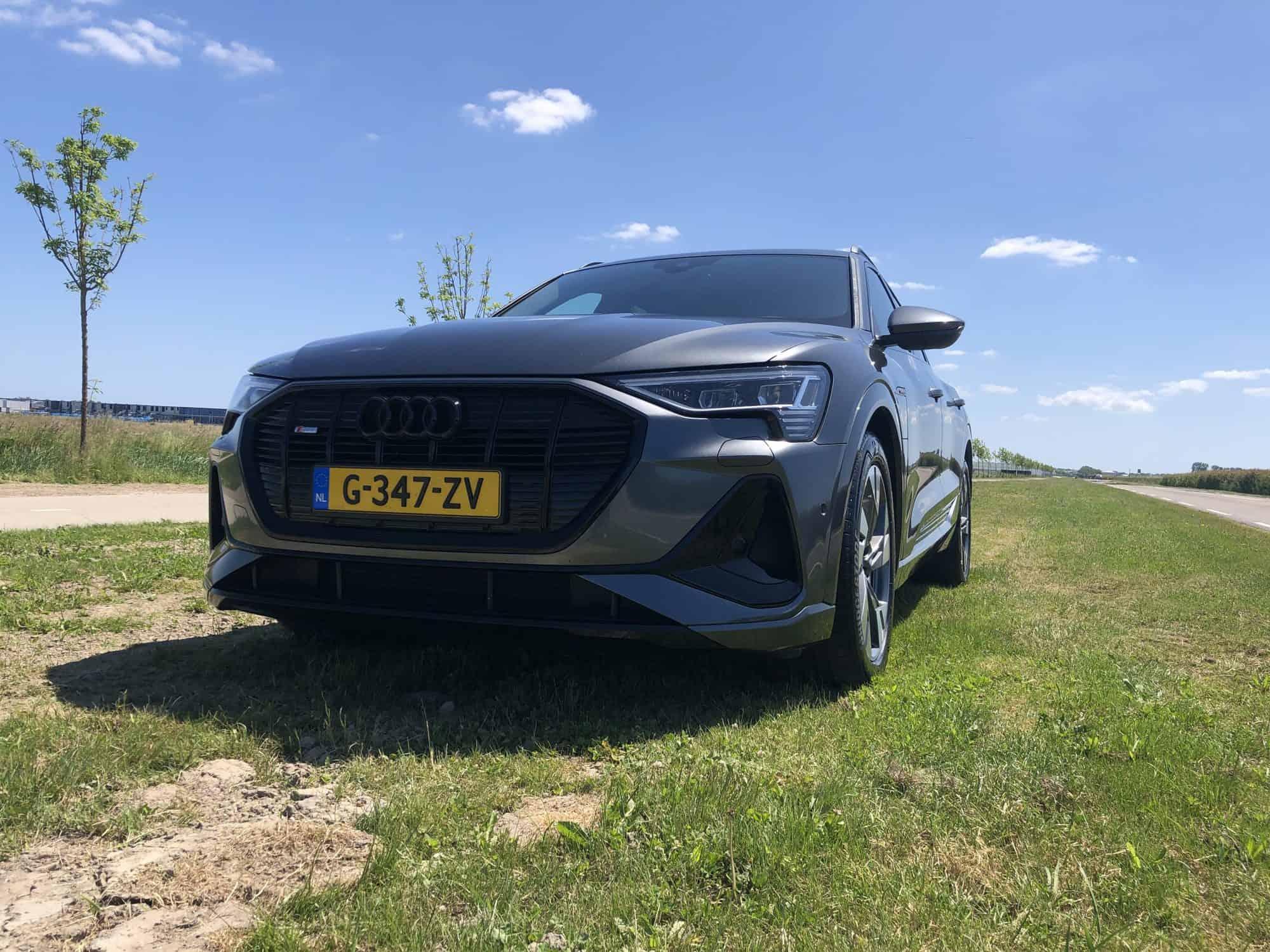 Audi e-tron 50 quattro 313pk Launch Edition Black 5d. (4% bijtelling+22% bijtelling)